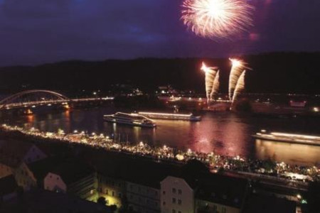 Donau in Flammen, Passau