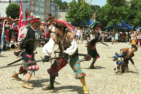 Historisches Burgfest in Burghausen